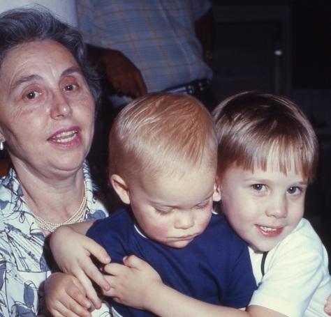 10 Nonna O, Steven, and Brian